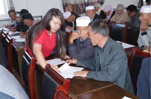 龙8国际新阳光公司赴崆峒区寨河乡开展国家电子商务进农村综合示范项目电商人才培训