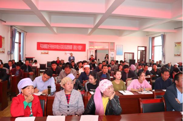龙8国际新阳光公司在崆峒区峡门乡开展电子商务培训