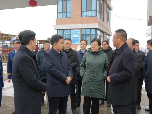 市 长 王 奋 彦 来 平 凉 新 阳 光 市 场 检 查